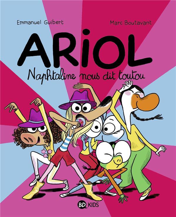 ARIOL, TOME 16 - NAPHTALINE NOUS DIT TOUTOU