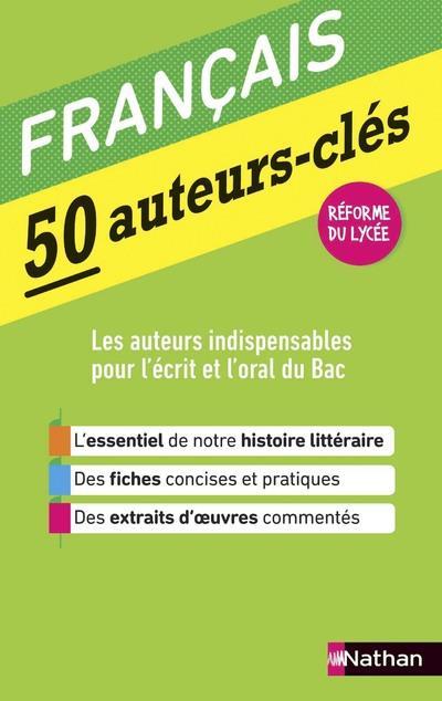 50 auteurs-clés ; français (édition 2019)