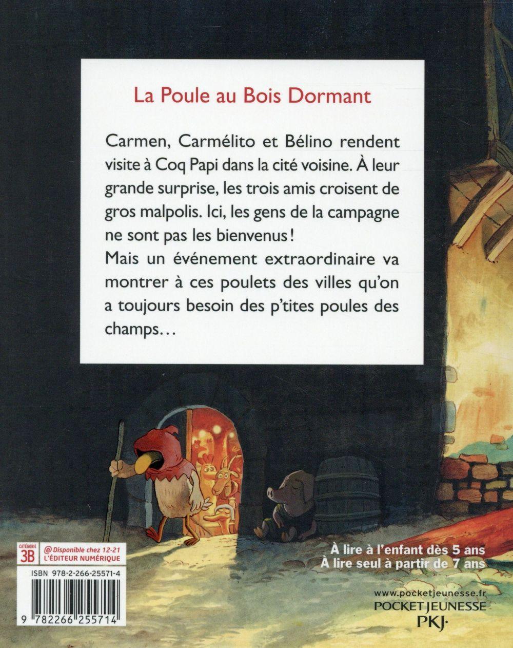 Les P'tites Poules t.13 ; la Poule au Bois Dormant