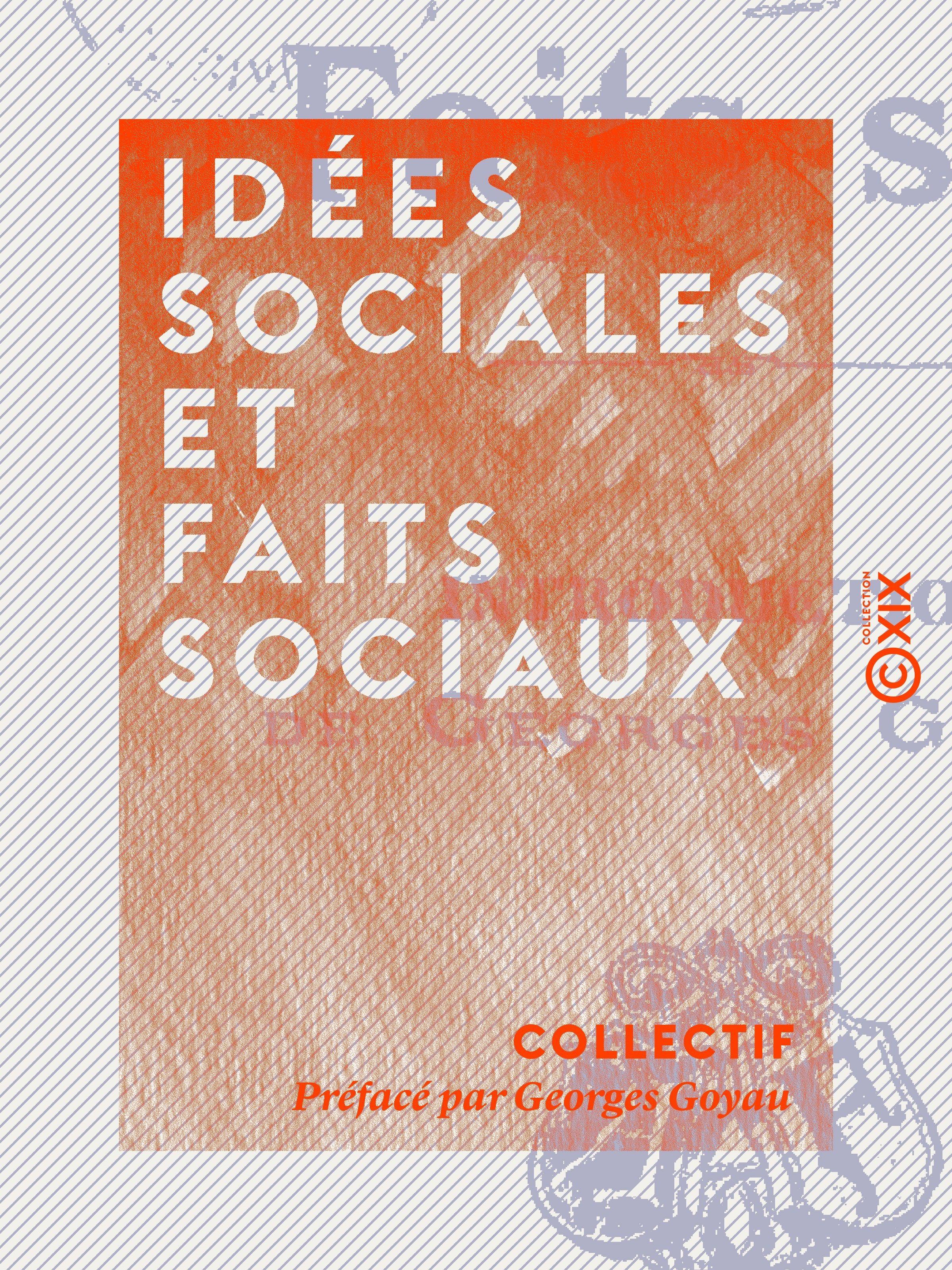 Idées sociales et Faits sociaux
