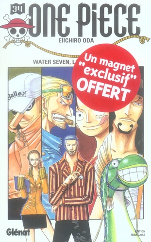 One Piece T.34 ; Water Seven, La Cite Sur L'Eau