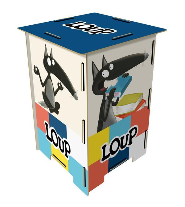 MATERIEL LIBRAIRES - 10 ANS DE LOUP - TABOURET COLLECTIF