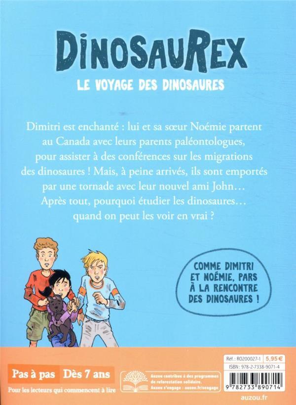 Dinosaurex t.6 ; le voyage des dinosaures