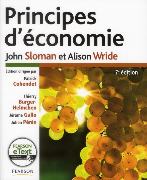 Principes D'Economie (7e Edition)