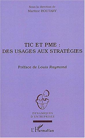Tic Et Pme : Des Usages Aux Strategies