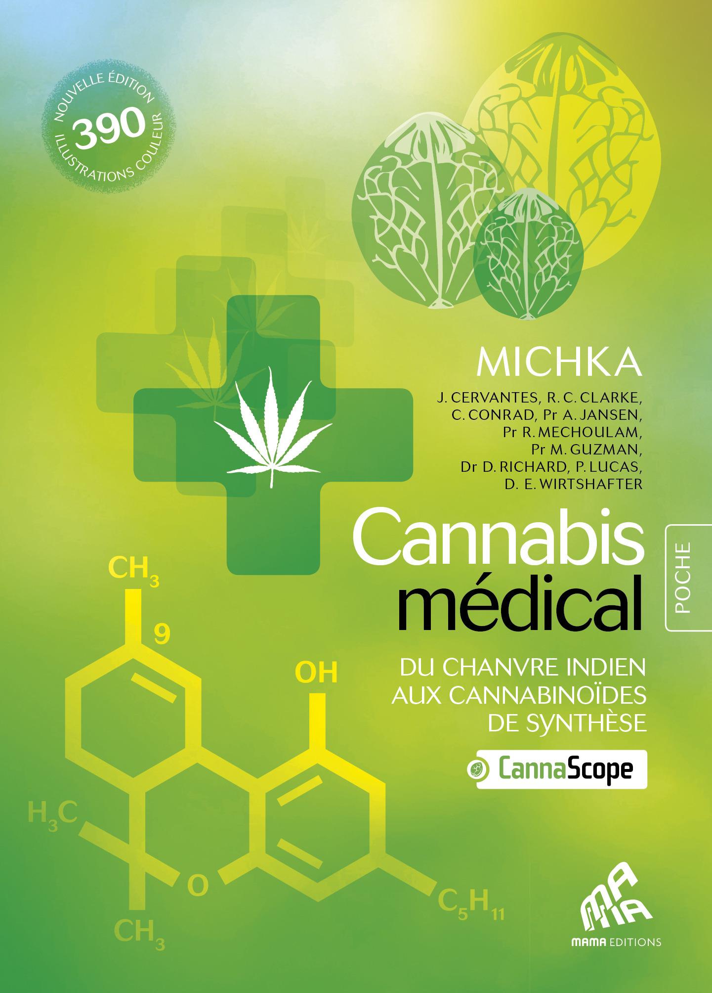 Cannabis médical ; du chanvre indien aux cannabinoïdes de synthèse ; édition Poche