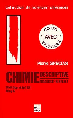 Chimie descriptive organique minerale sup spe pp' deug a