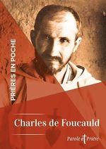 Vente EBooks : Prières en poche - Charles de Foucauld  - Charles de Foucauld