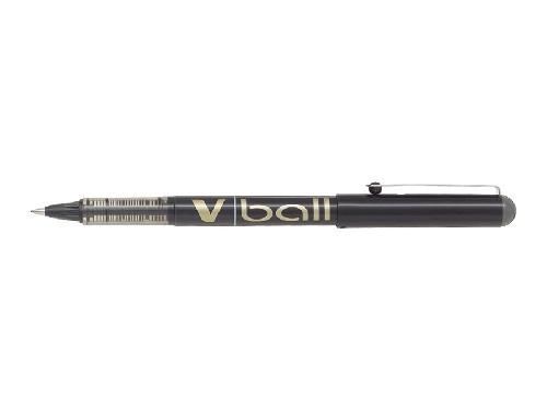 Roller encre liquide - PILOT® - V-Ball 07 - Noir - Pointe moyenne