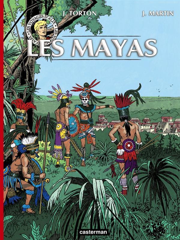 Les voyages d'Alix ; INTEGRALE ; les Mayas t.1 et t.2