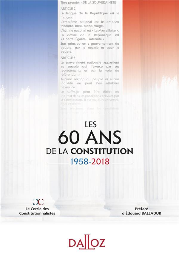 60 ans de la Constitution