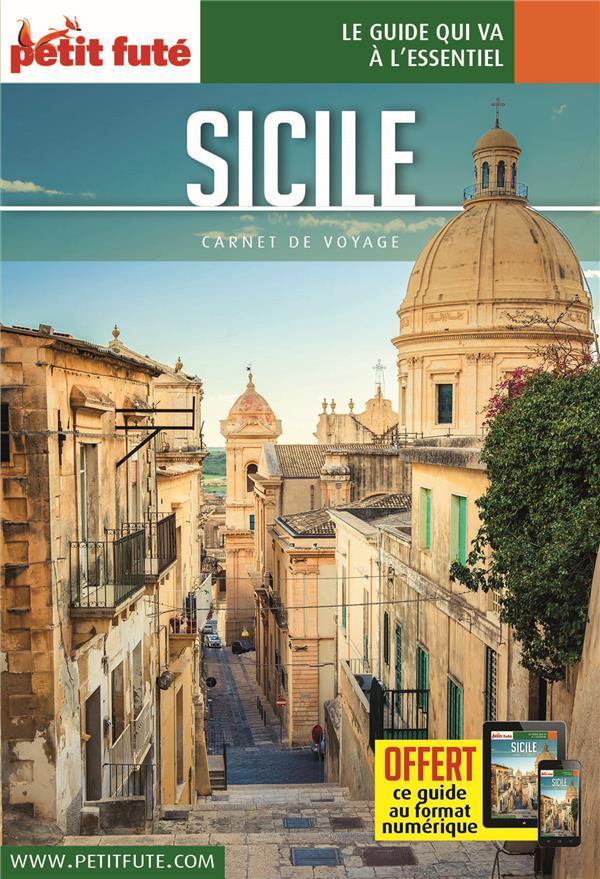 GUIDE PETIT FUTE  -  CARNETS DE VOYAGE  -  SICILE (EDITION 2020)