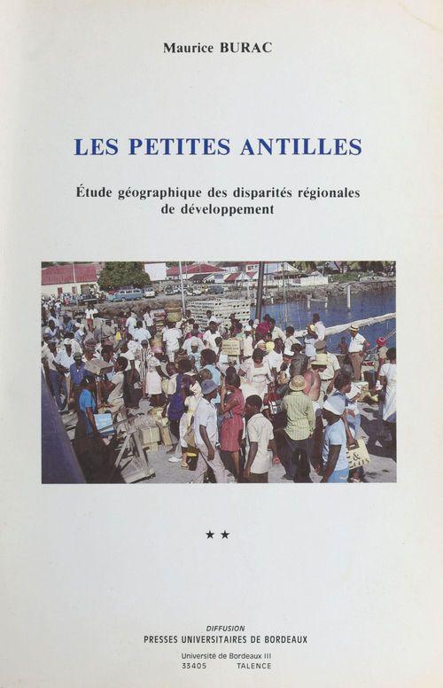 Les Petites Antilles : étude géographique des disparités régionales de développement (2)