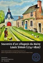 Souvenirs d'un villageois du Maine  - Louis Simon