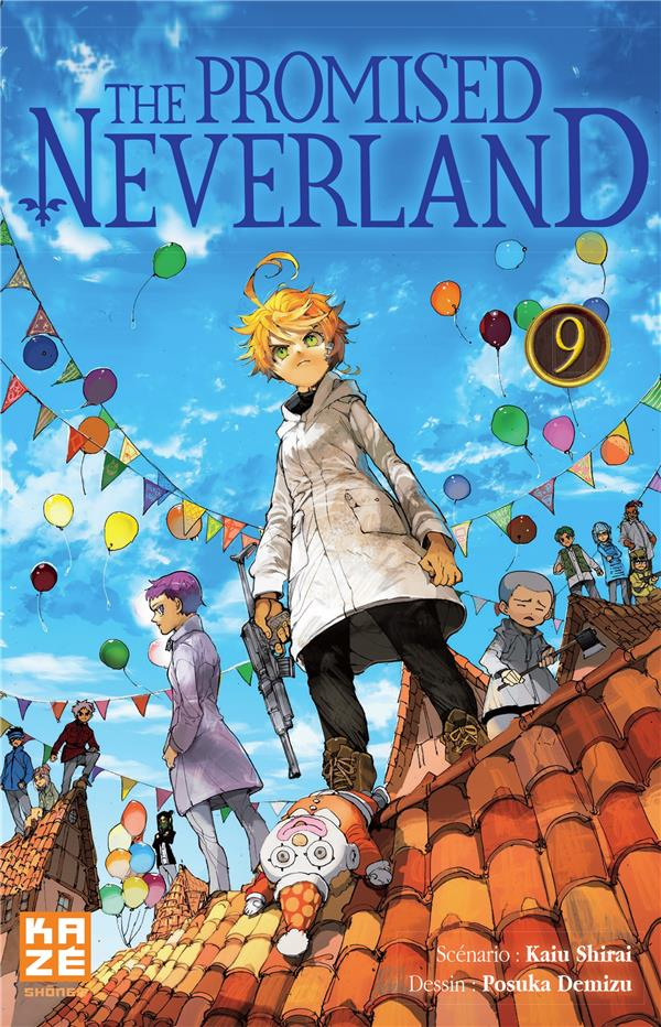 The promised Neverland T.9