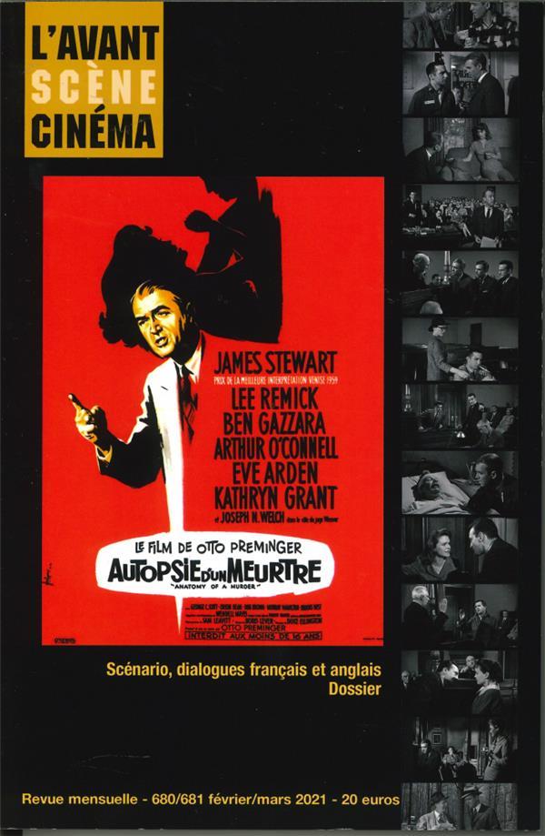 L'avant-scene cinema n 680/81 - autopsie d'un meurtre - fevrier/mars 2021