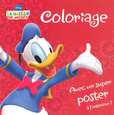 La maison de Mickey ; coloriage
