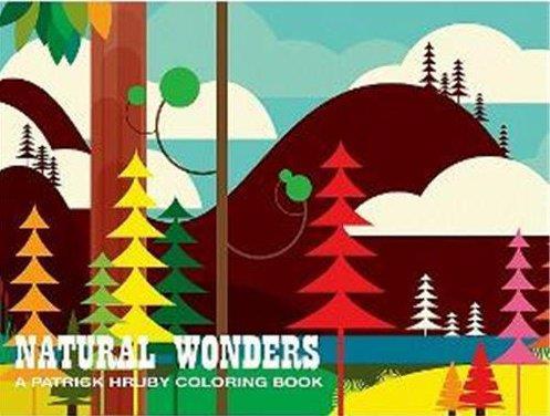Natural wonders a patrick hruby coloring book