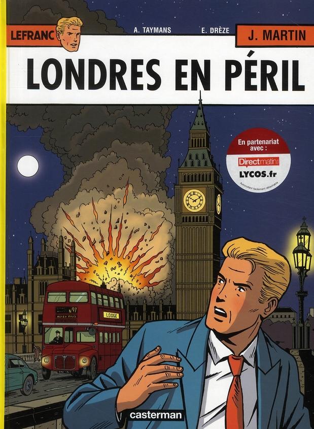 Lefranc T.19 ; Londres en péril
