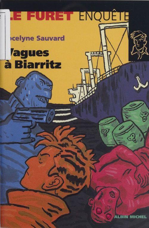 Vagues a biarritz