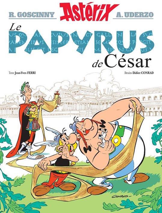 Astérix T.36 ; le papyrus de César