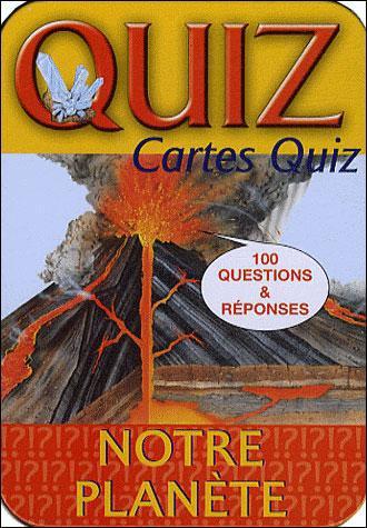 La Boite Quiz ; Notre Planete (Edition 2011)