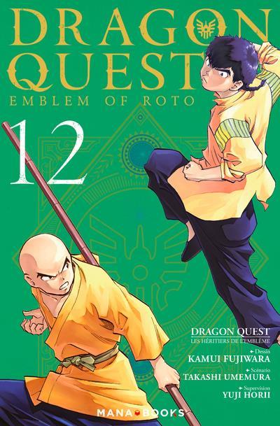 dragon quest - les héritiers de l'emblème t.12