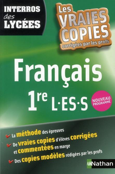 Interros Des Lycees T.21; Francais ; 1eres L, Es, S