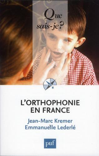 L'Orthophonie En France (7e Edition)