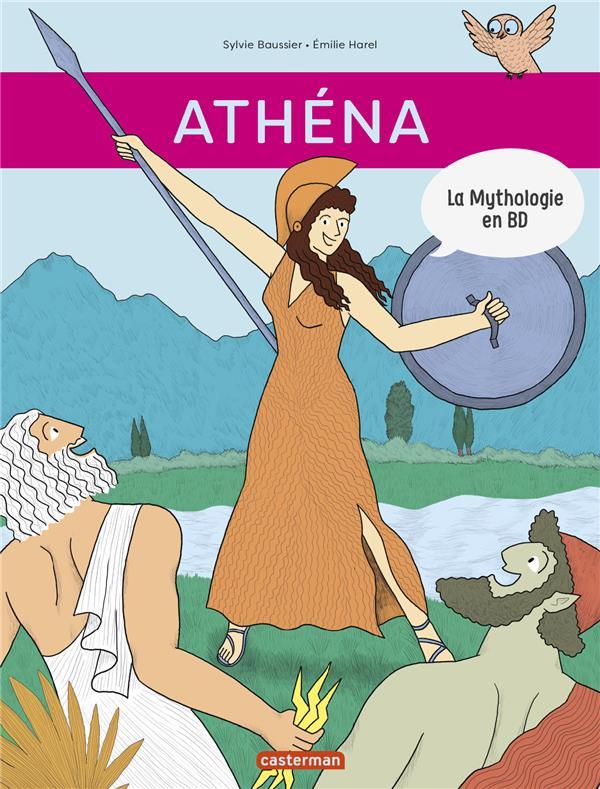 La mythologie en BD t.11 ; Athéna