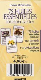 75 huiles essentielles indispensables