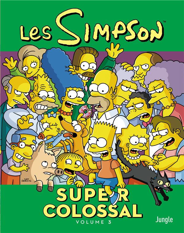 Les Simpson - super colossal T.3