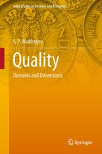 Quality  - S P Mukherjee