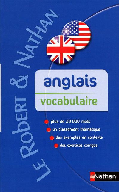 VOCABULAIRE ANGLAIS CONTEMPORAIN - ROBERT & NATHAN