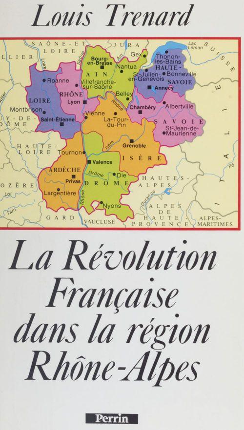 Revolution francaise dans la region rhone-alpes