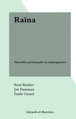 Vente Livre Numérique : Raïna  - René Barbier