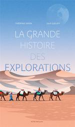 Couverture de La grande histoire des explorations