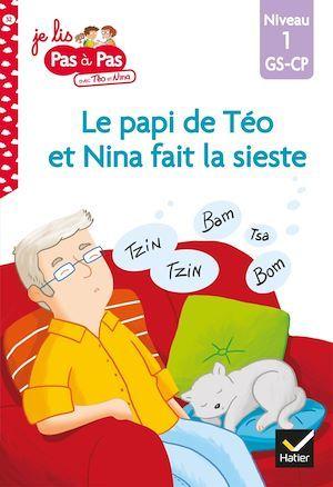 Le papi de Téo et Nina fait la sieste