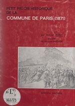 Petit précis historique de la Commune de Paris, 1871