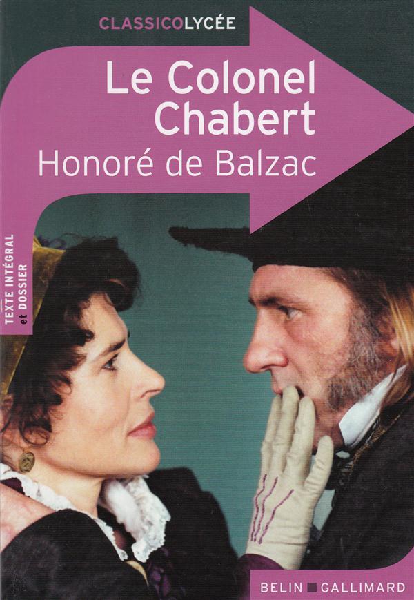 Le Colonel Chabert, d'Honoré de Balzac
