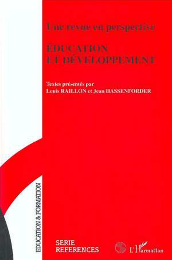 Une Revue En Perspective : Education Et Developpement