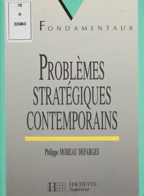 Problemes strategiques contemporains