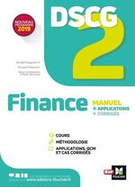Vente EBooks : DSCG 2 - Finance - Manuel et applications  - Alain Burlaud - Arnaud Thauvron - Annaïck Guyvarc'h