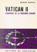Vatican II, chronique de la deuxième session