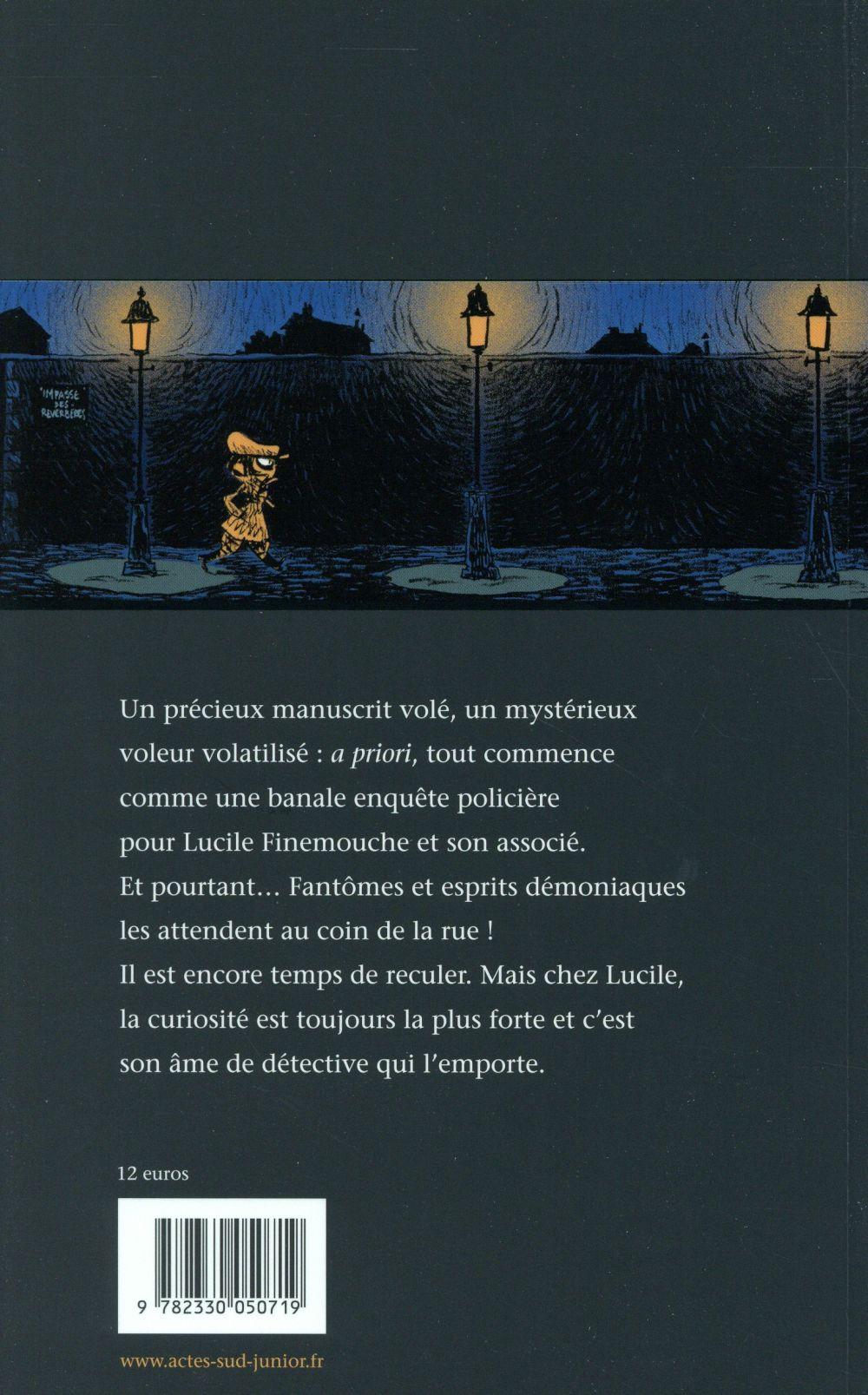 Lucile Finemouche et le balafré t.1 ; la dimension Chronogyre