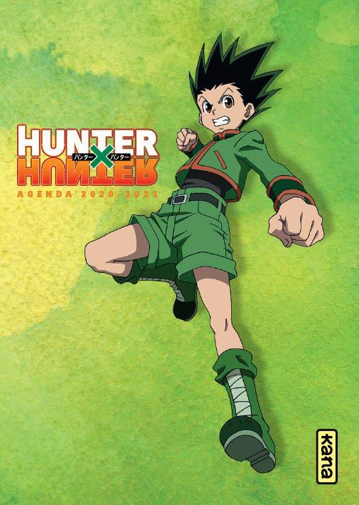 Hunter X hunter ; agenda (édition 2020/2021)