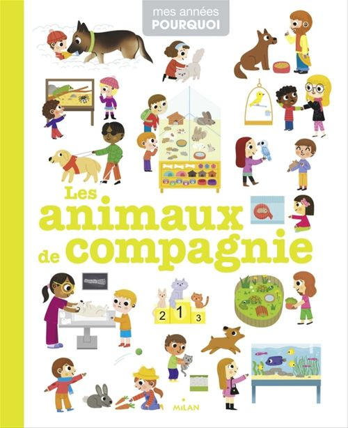 Vente Livre Numérique : Les animaux de compagnie  - Pascale Hédelin