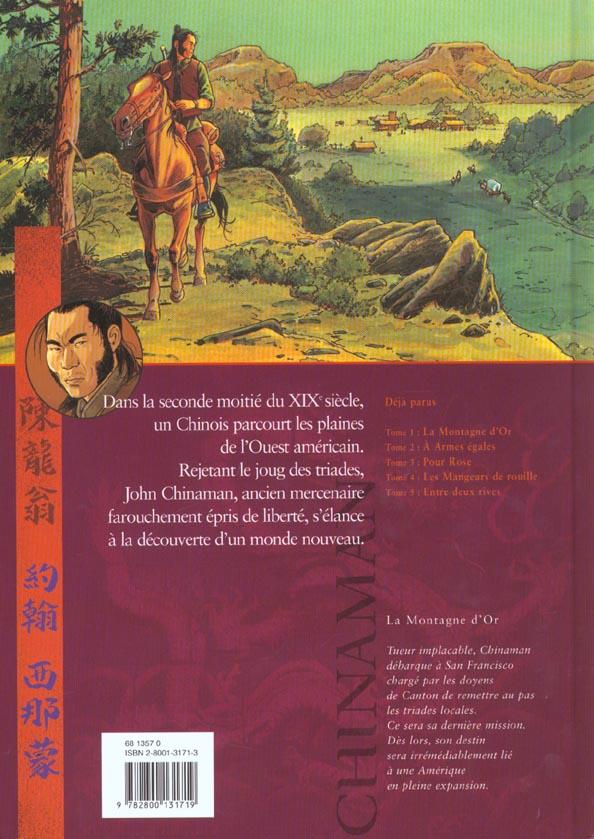 Chinaman t.1 ; la montagne d'or