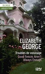 Vente Livre Numérique : Bilingue - Troubles de voisinage  - Elizabeth George