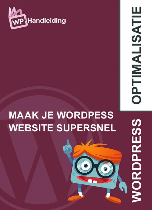 Wordpress optimalisatie